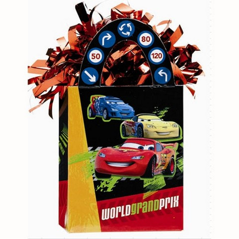 Disney Cars 2 Balloon Tote Weight