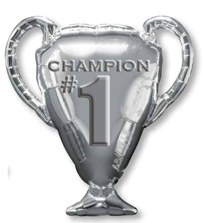 SuperShape XL Silver Trophy Champion #1 P30