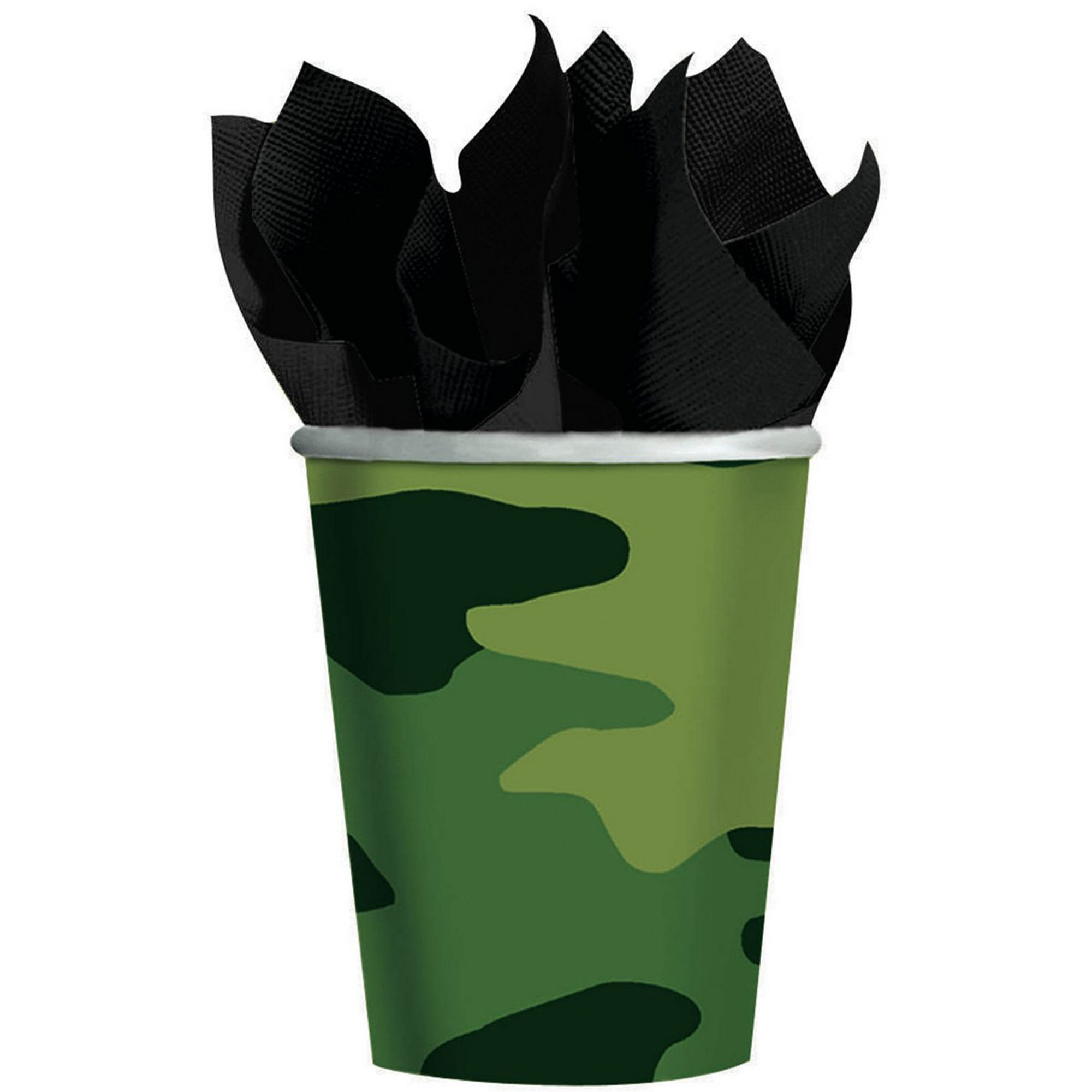 Camouflage 266ml Cups