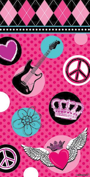 Rocker Princess Paper Favor Bag