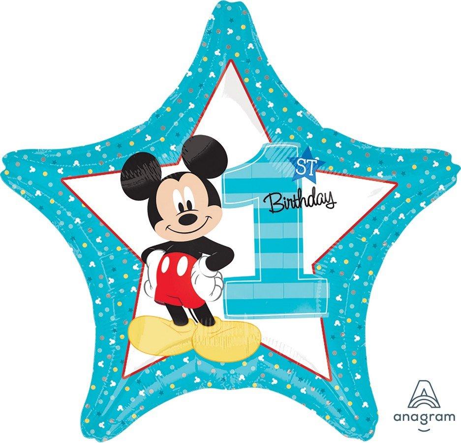 45cm Standard HX Mickey 1st Birthday S60