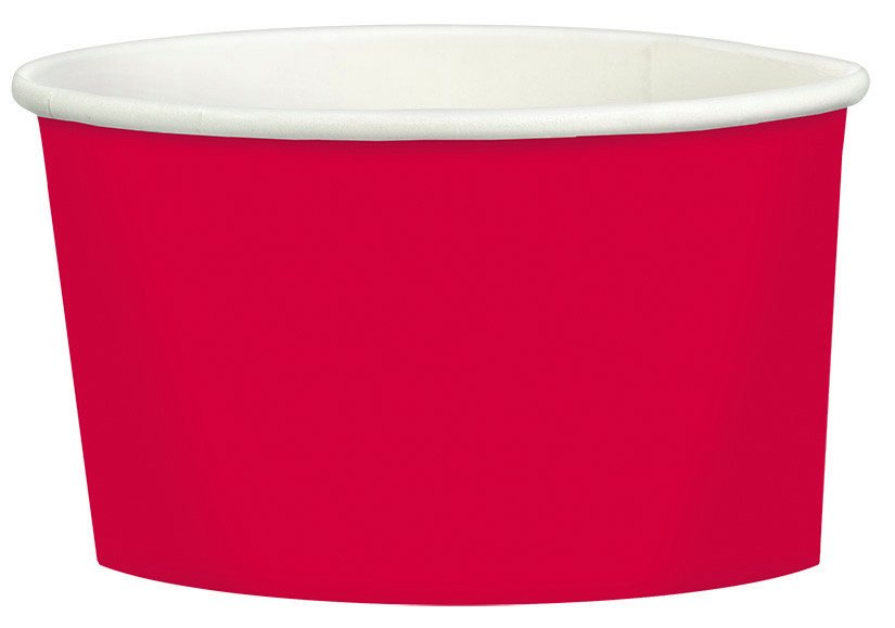 Paper Treat Cup 280ml Apple Red