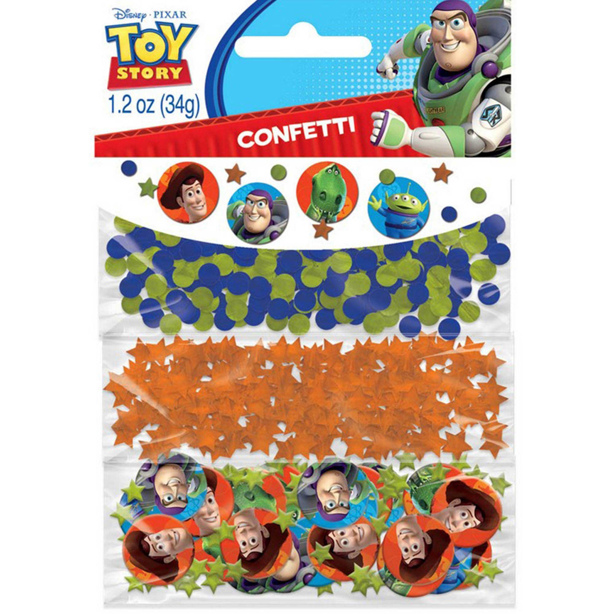 Toy Story Value Confetti 34g