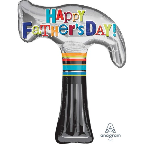 SuperShape XL Happy Father's Day Hammer P35
