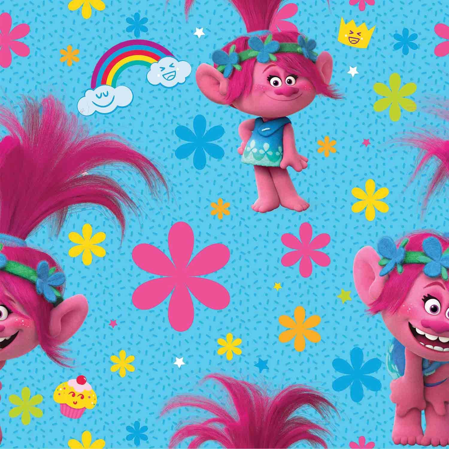 Trolls Printed Gift Wrapping Paper