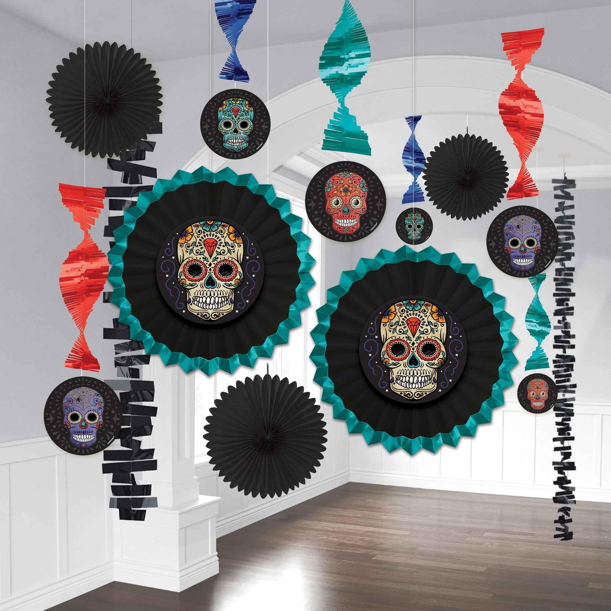 Sugar Skull Room Decorating Kit