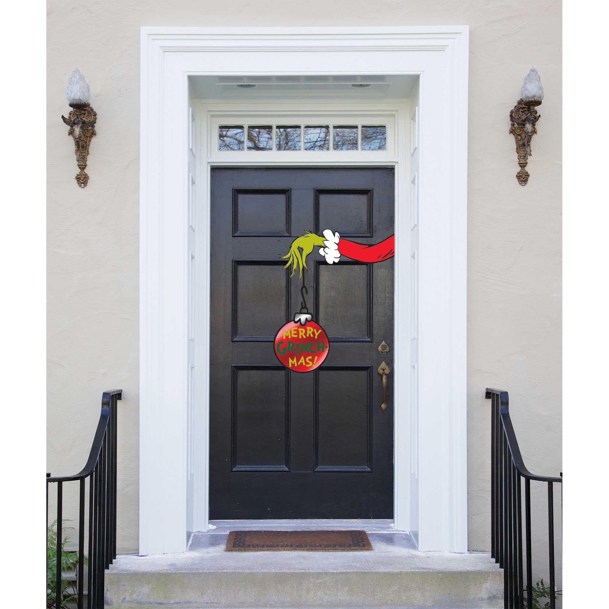 Dr. Seuss The Grinch Door Decoration Merry Grinchmas