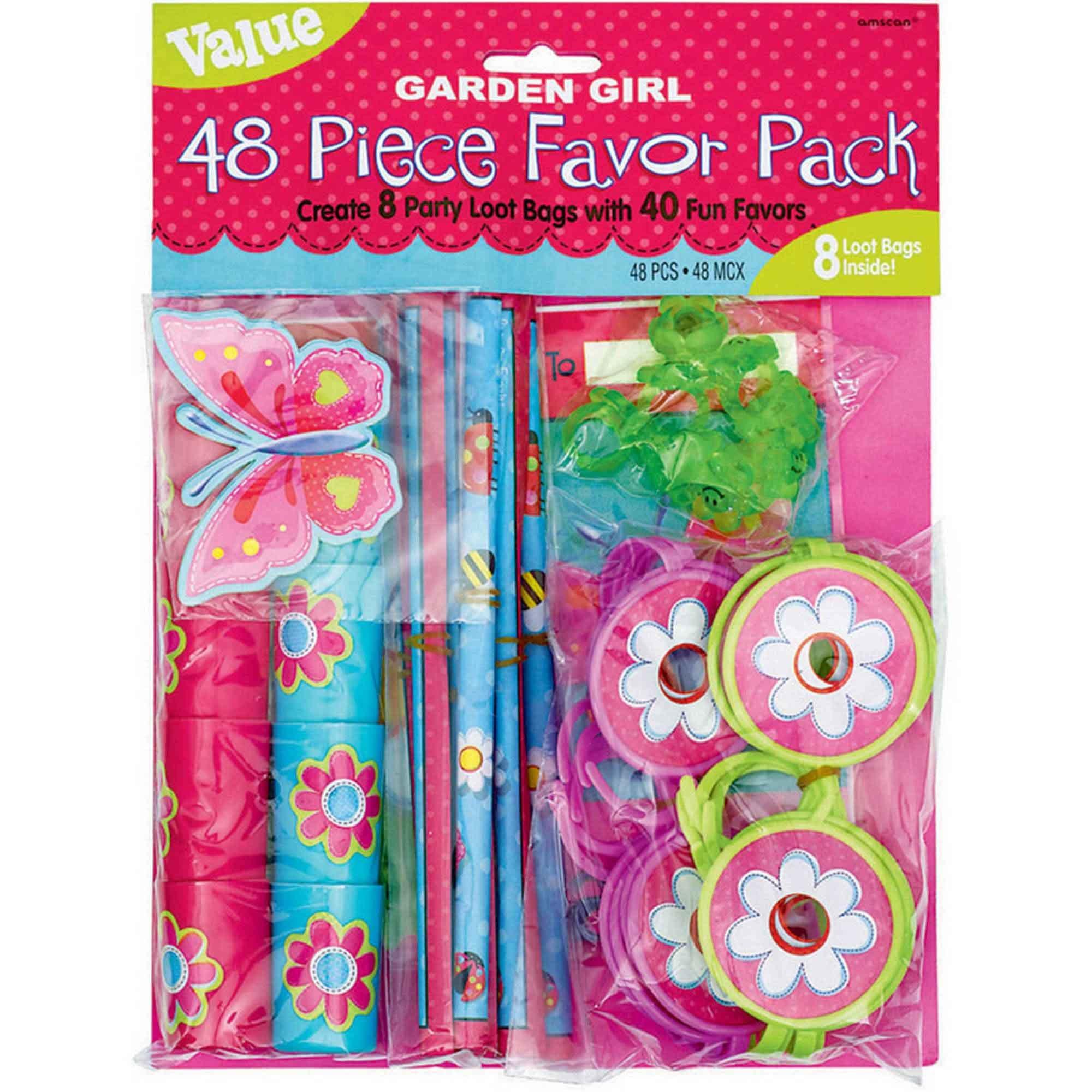 Garden Girl Mega Mix Value Pack Favor w/Bag