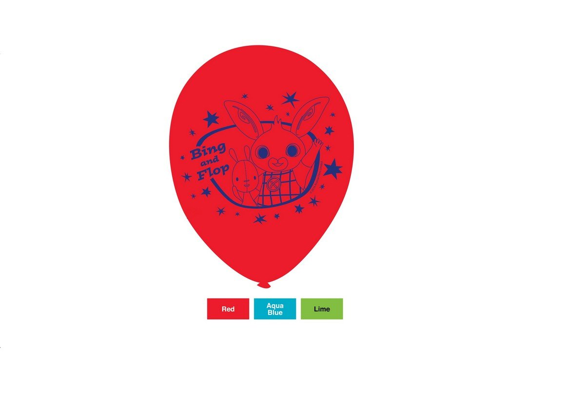 Bing 30cm Latex Balloons