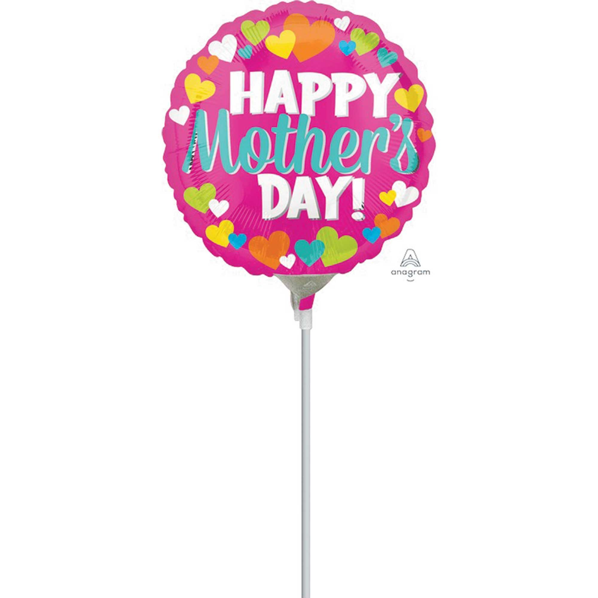 23cm Happy Mothers Day Hearts A15