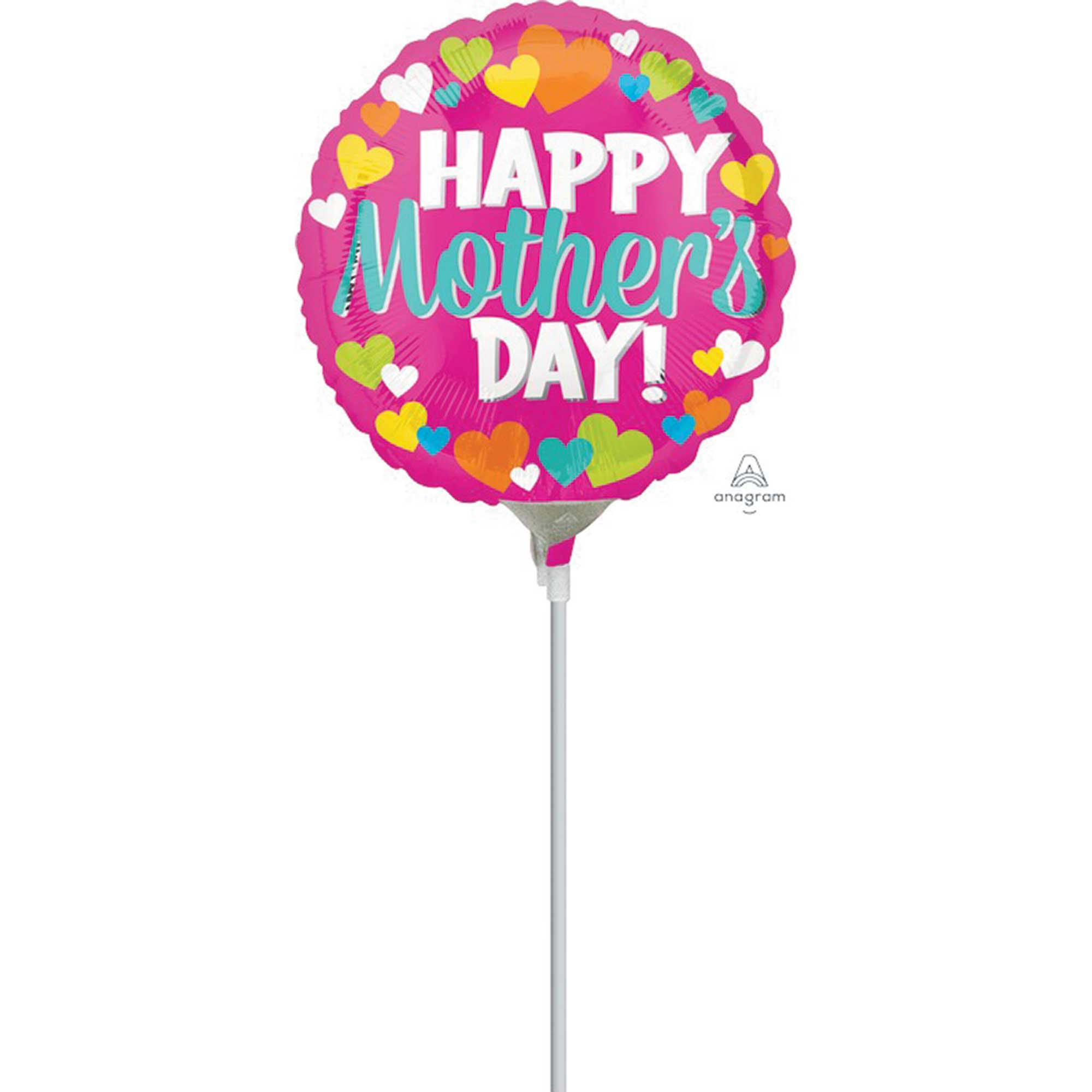 22cm Happy Mother's Day Hearts A15