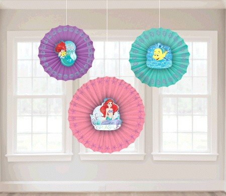 Ariel Dream Big Fan Decorations