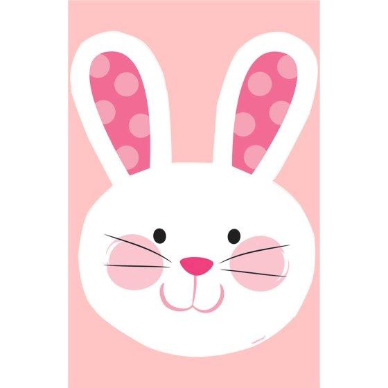 Easter Bunny Head Cutout