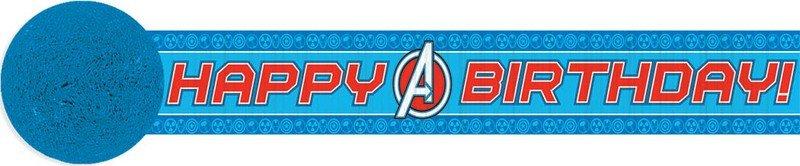 Avengers Assemble Crepe Streamer