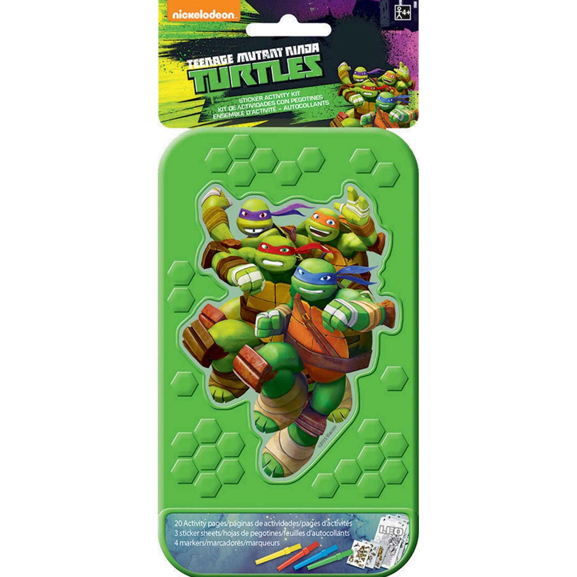 Sticker Activity Kit Teenage Mutant Ninja Turtles