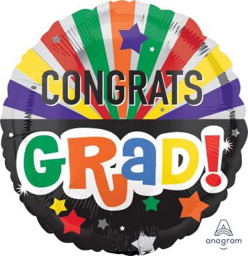 45cm Standard HX Congrats Grad Celebration S40