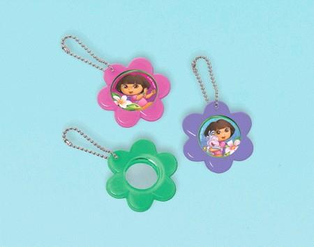 Dora's Flower Adventure Mirror Keychain Favor
