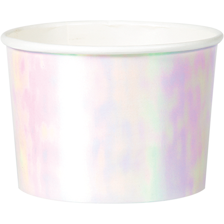 Iridescent Foil Treat Cups 9cm x 6cm