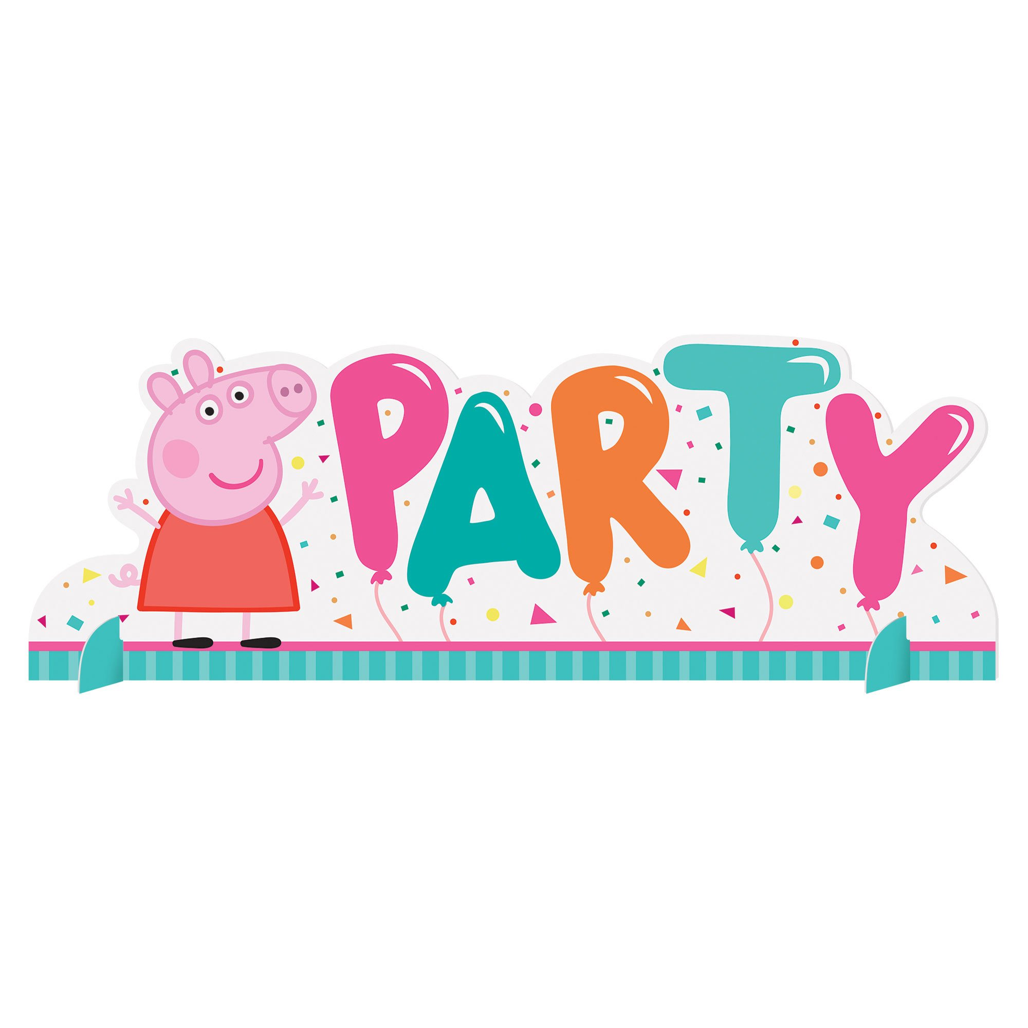 Peppa Pig Confetti Party Table Decoration