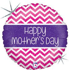 45cm Happy Mother's Day Chevron
