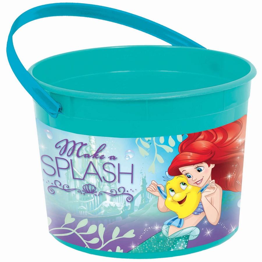 Ariel Dream Big Plastic Favor Container