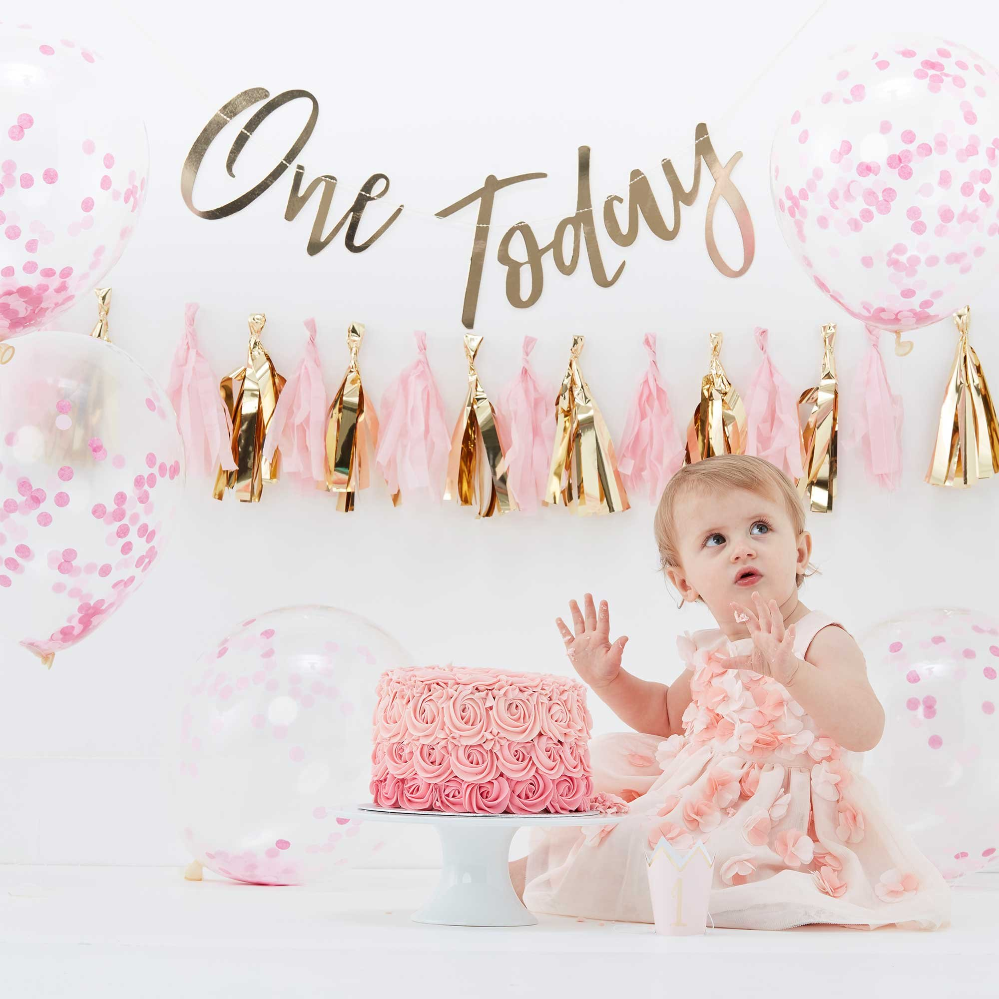 Pick & Mix Cake Smash Kit Girl One Today