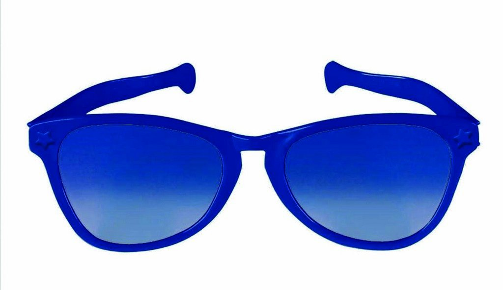 Jumbo Glasses - Navy