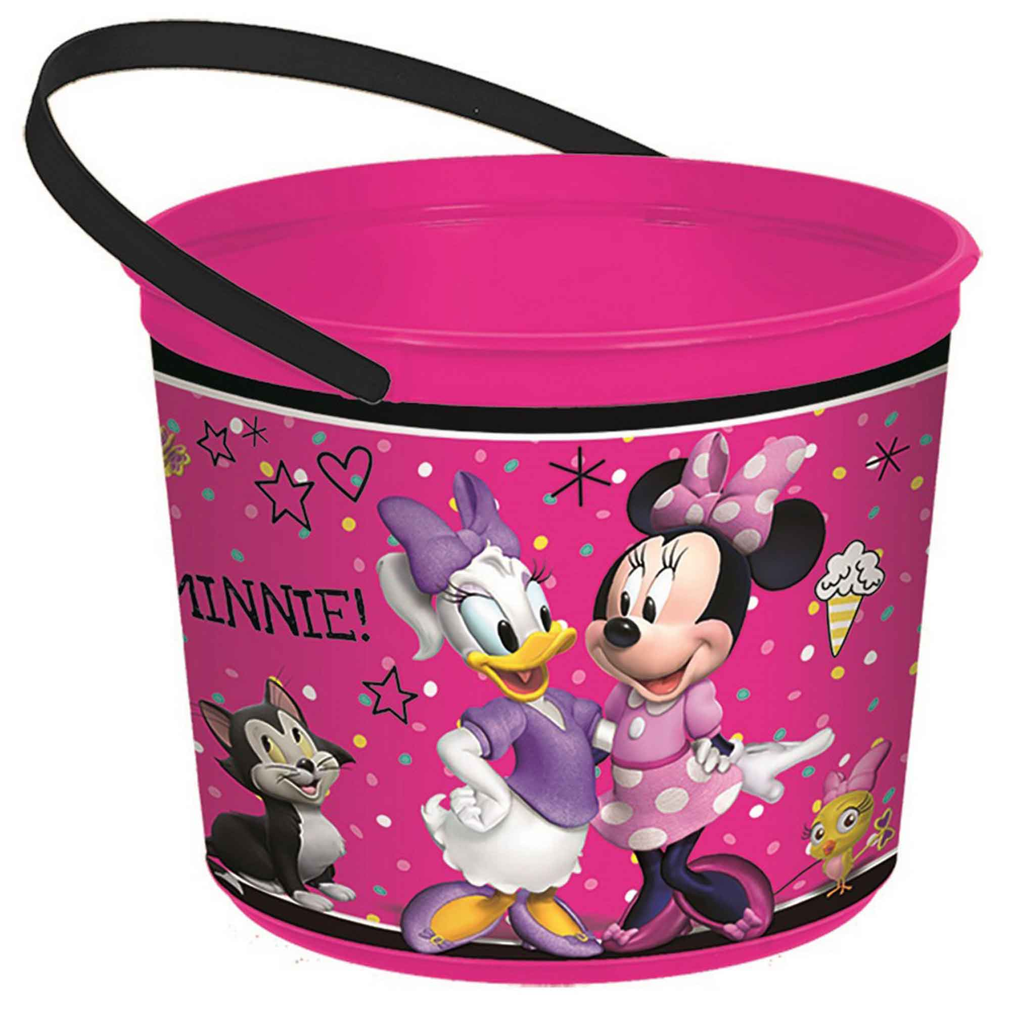 Minnie Mouse Happy Helpers Plastic Favor Container