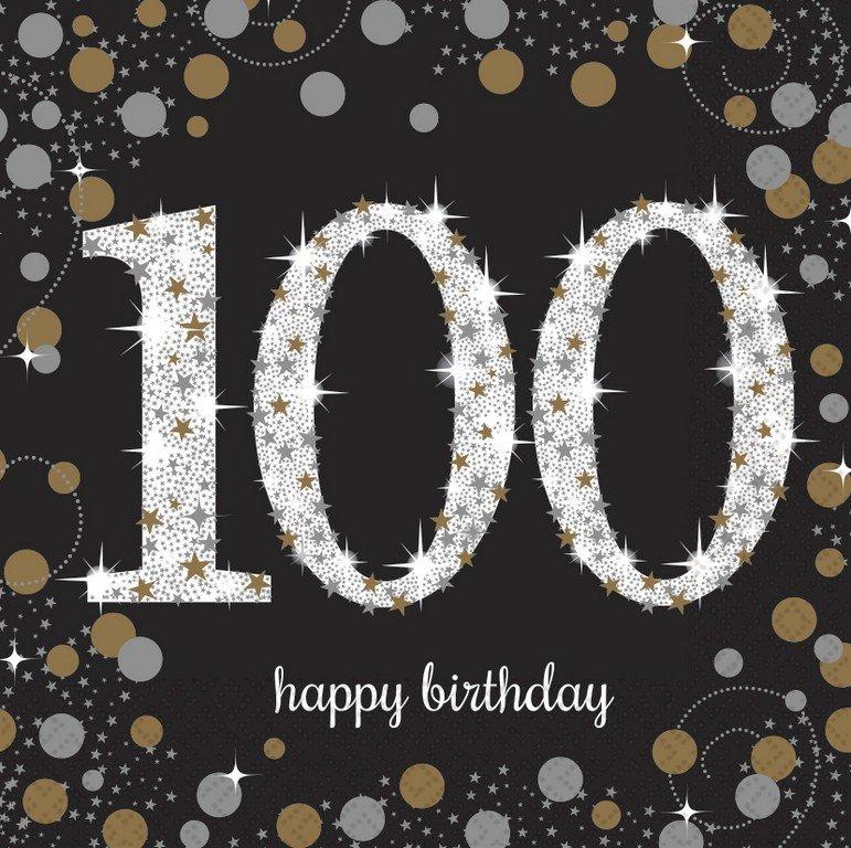 Sparkling Celebration 100 Lunch Napkins