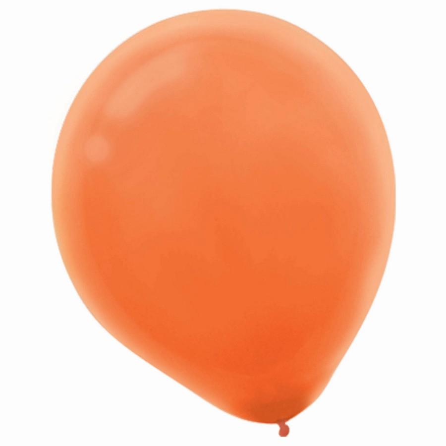 Latex Balloons 30cm 15CT Orange Peel