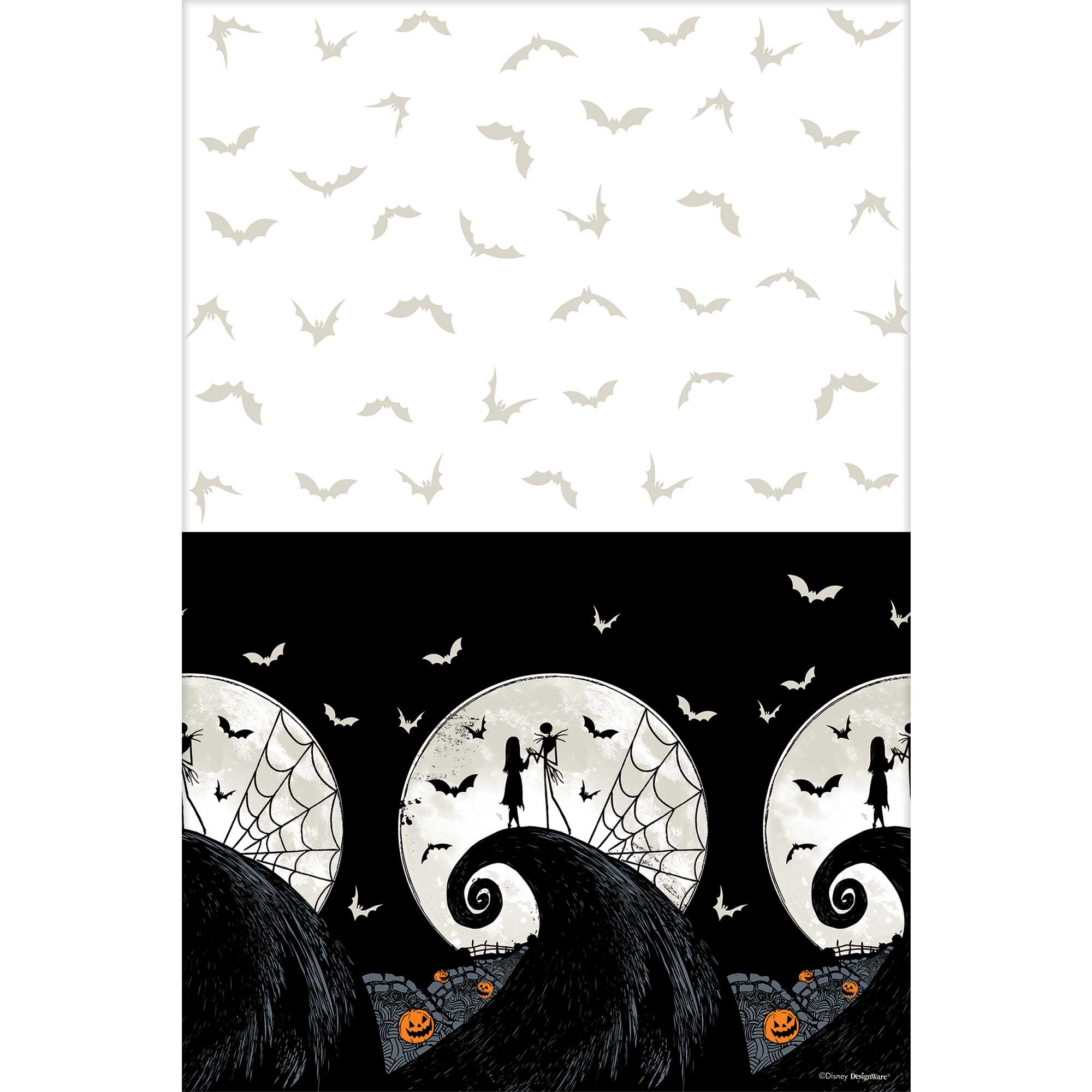The Nightmare Before Christmas Plastic Tablecover