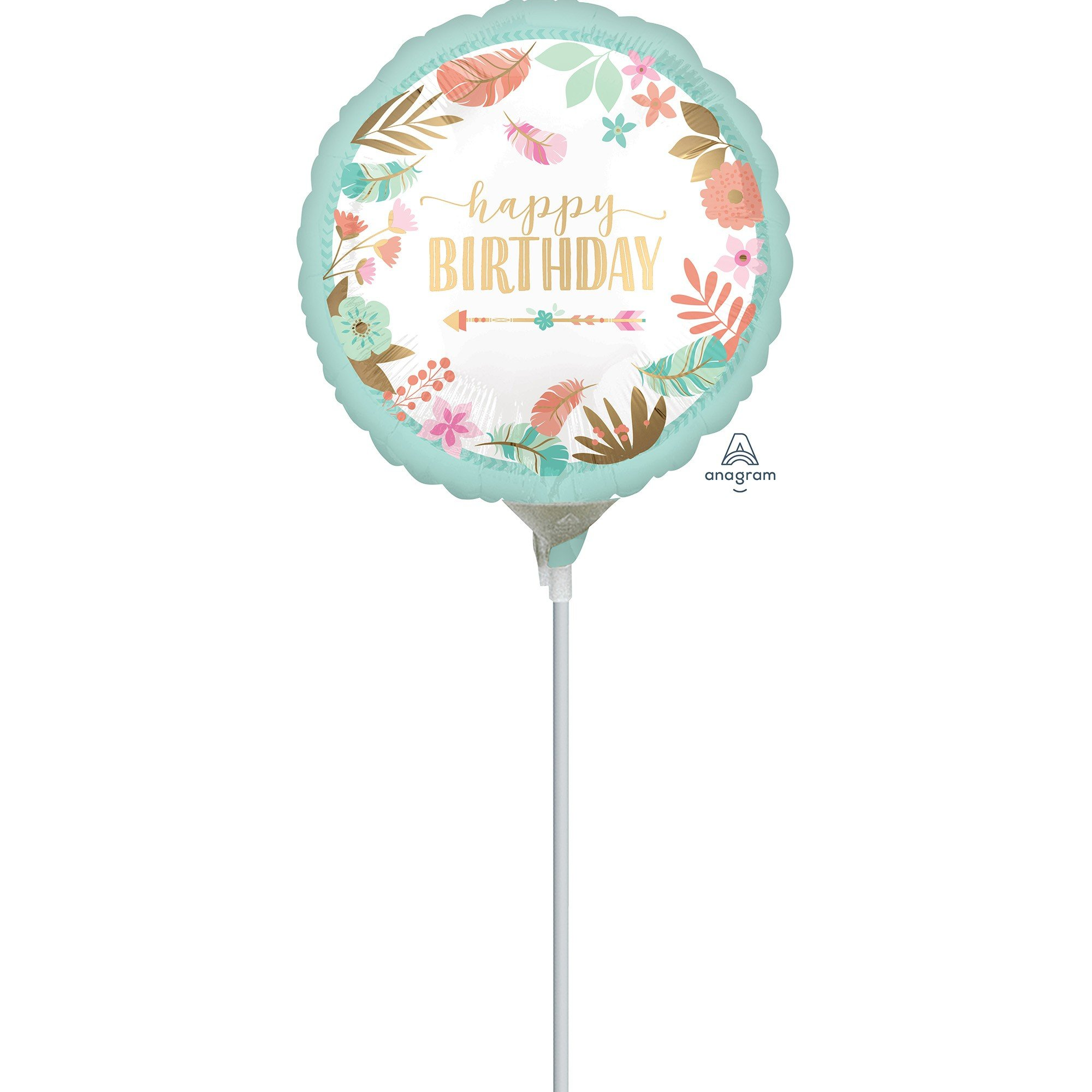 22cm Boho Birthday Girl A15