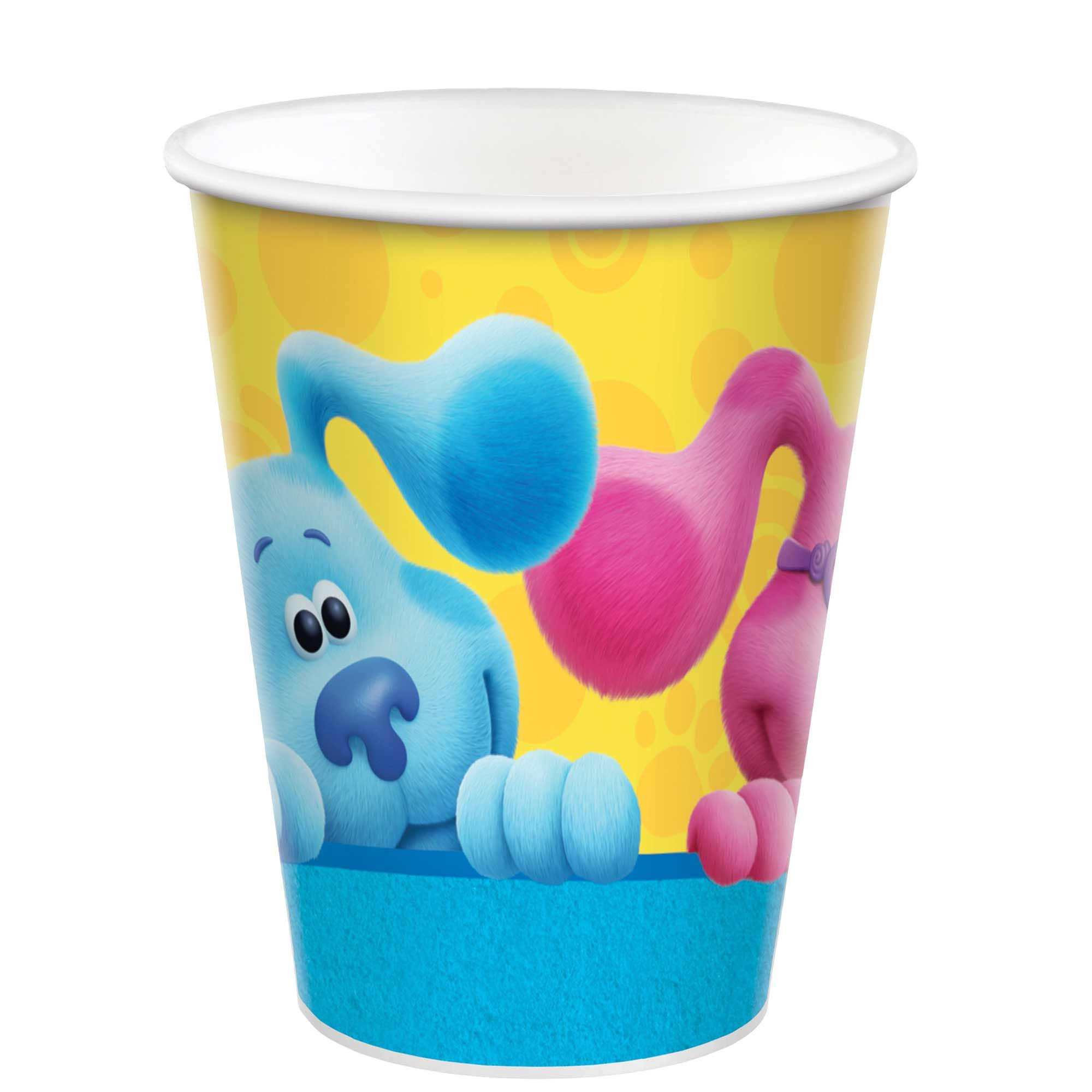 Blue's Clues 9oz / 266ml Paper Cups