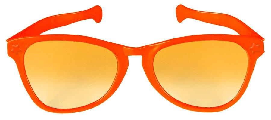 Jumbo Glasses - Orange