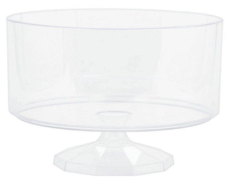 Trifle Container Plastic Clear Medium