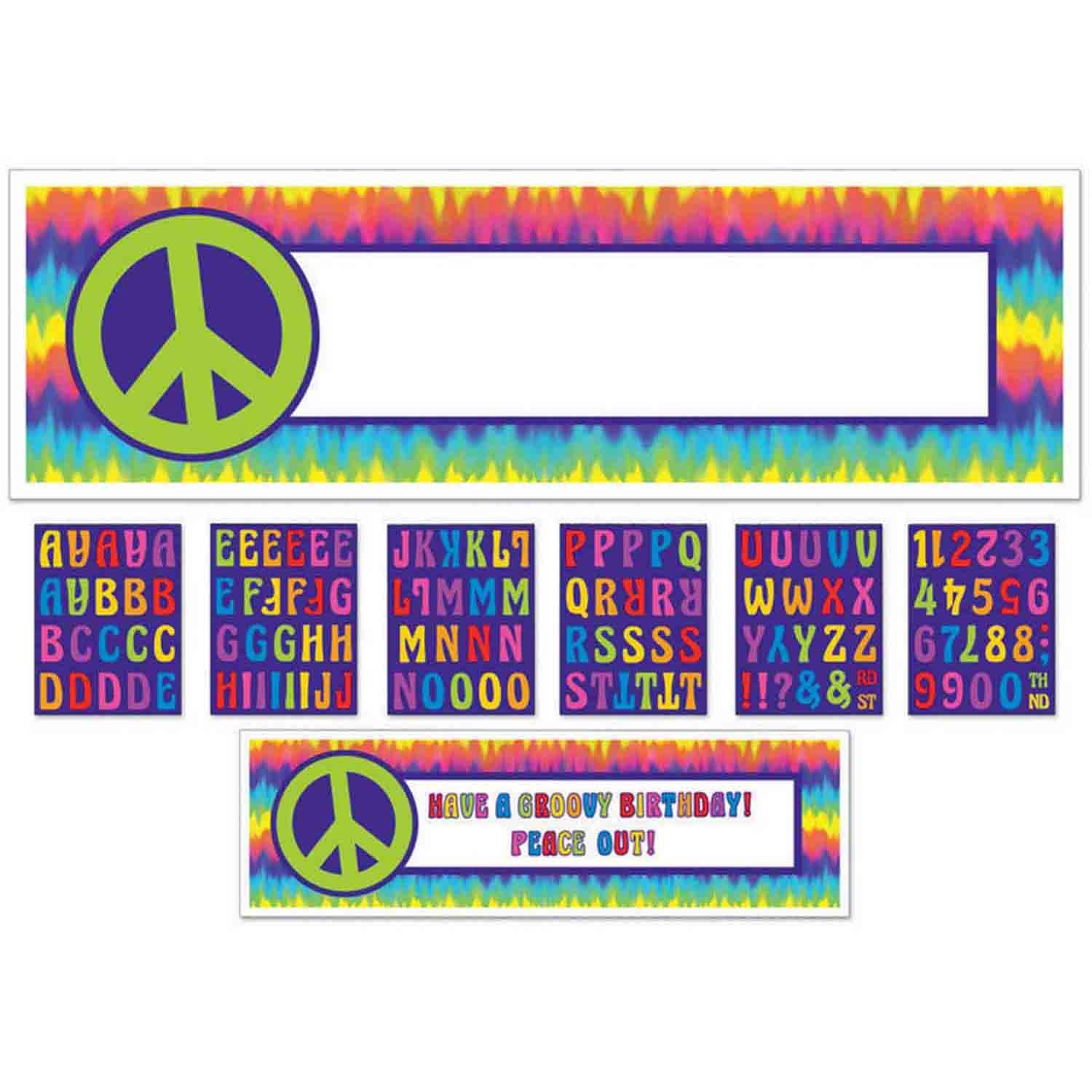 Feeling Groovy Personalized Banner