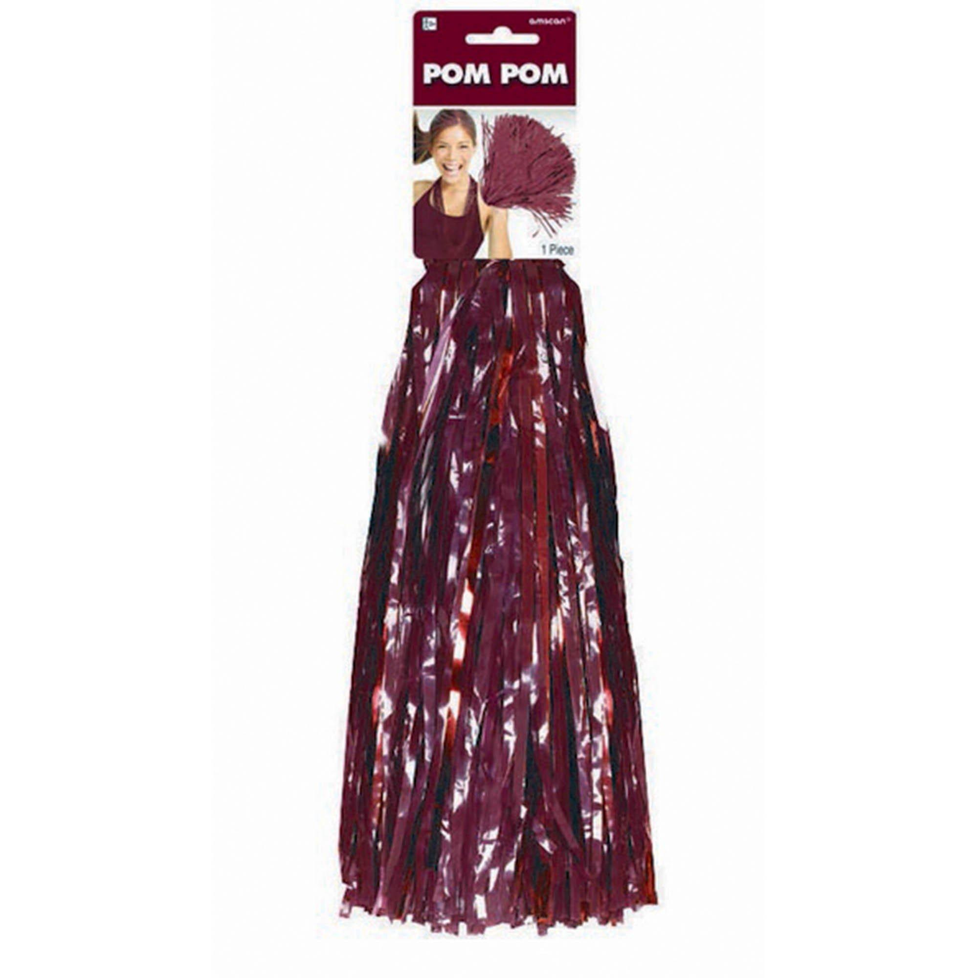 Pom Pom Mix- Burgundy
