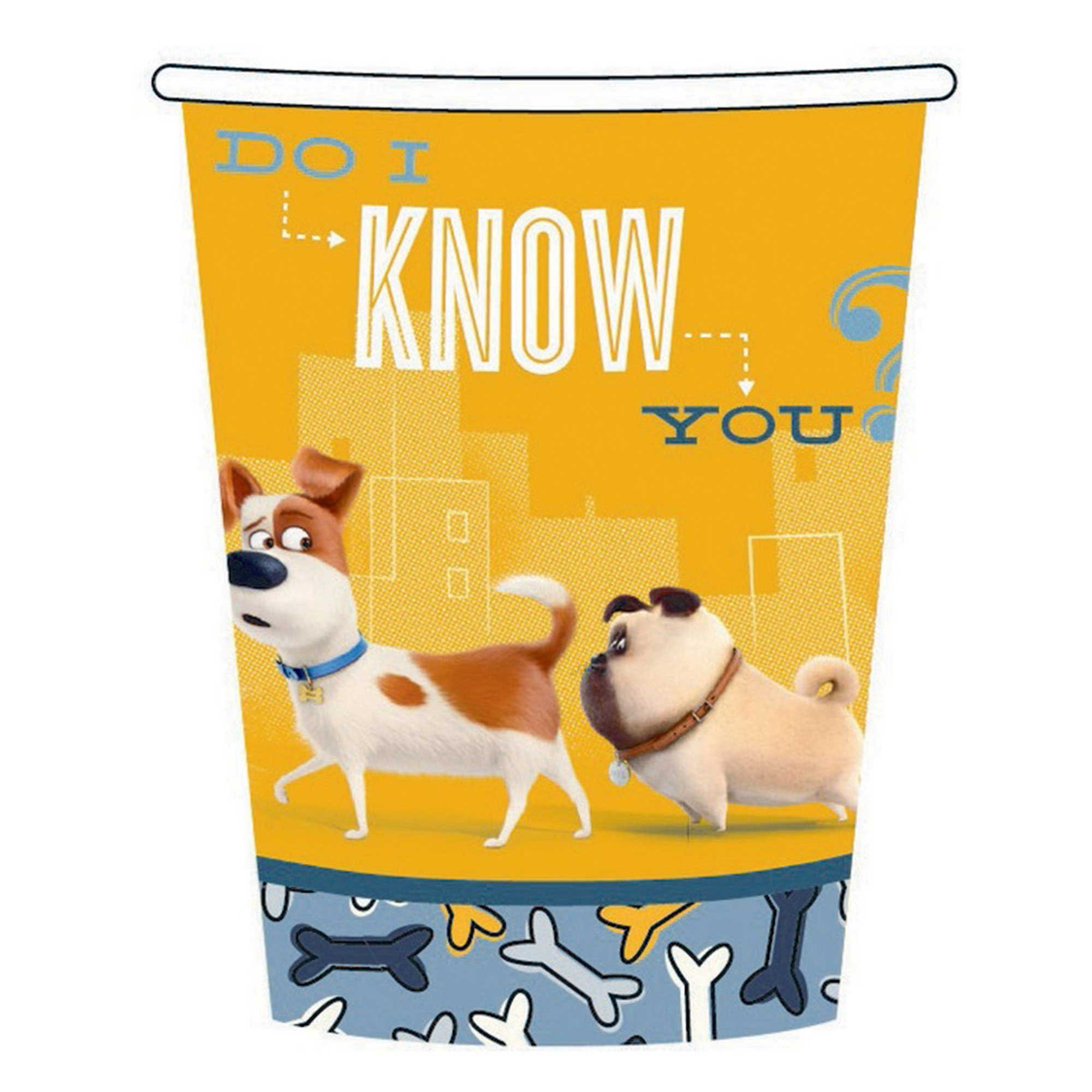 The Secret Life of Pets 266ml Cups