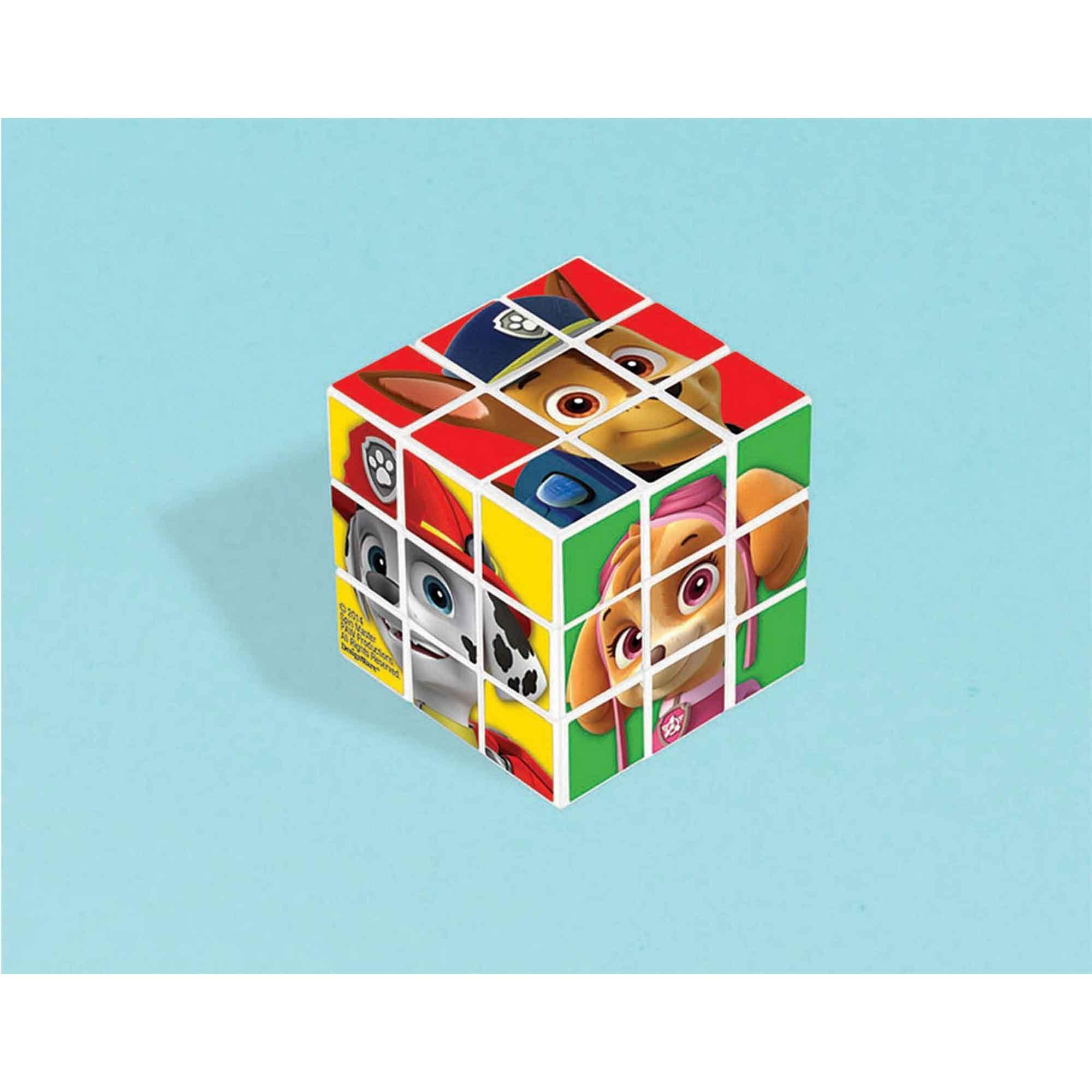 Paw Patrol Puzzle Cube Favor