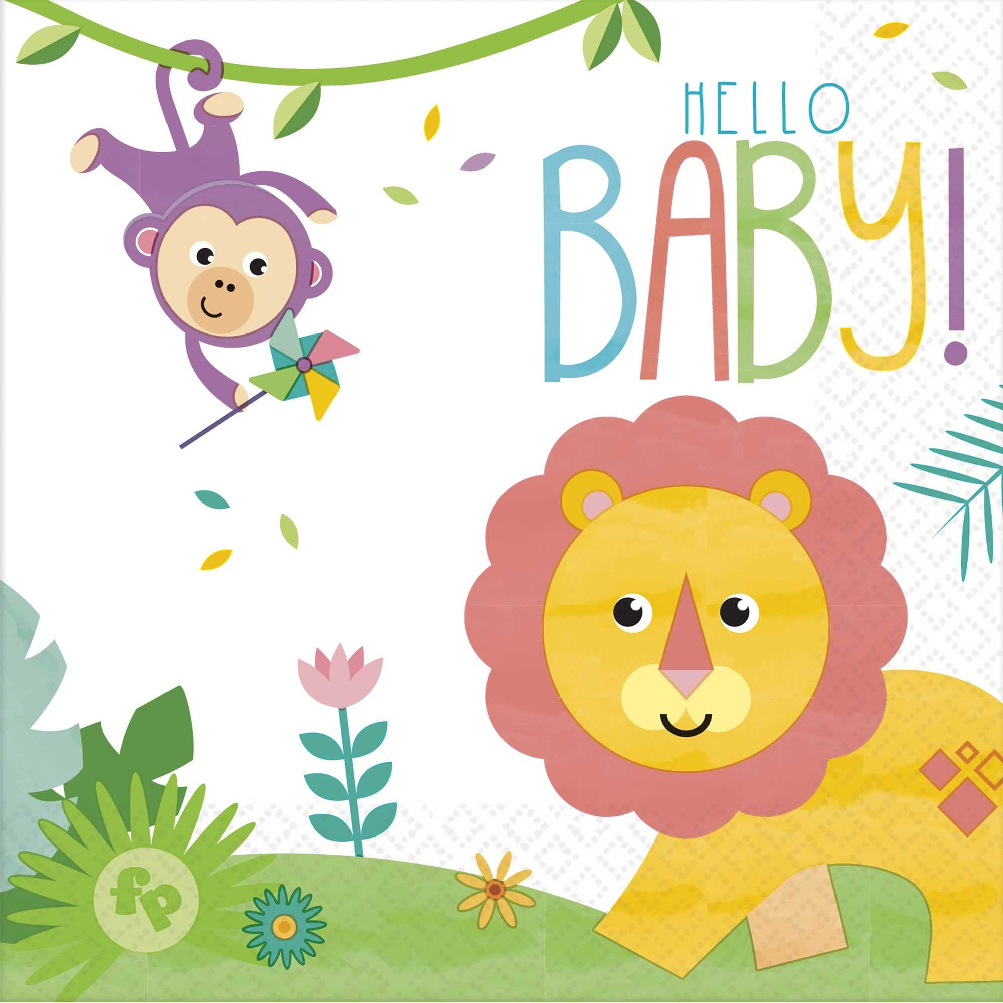 Fisher Price Hello Baby Lunch Napkins