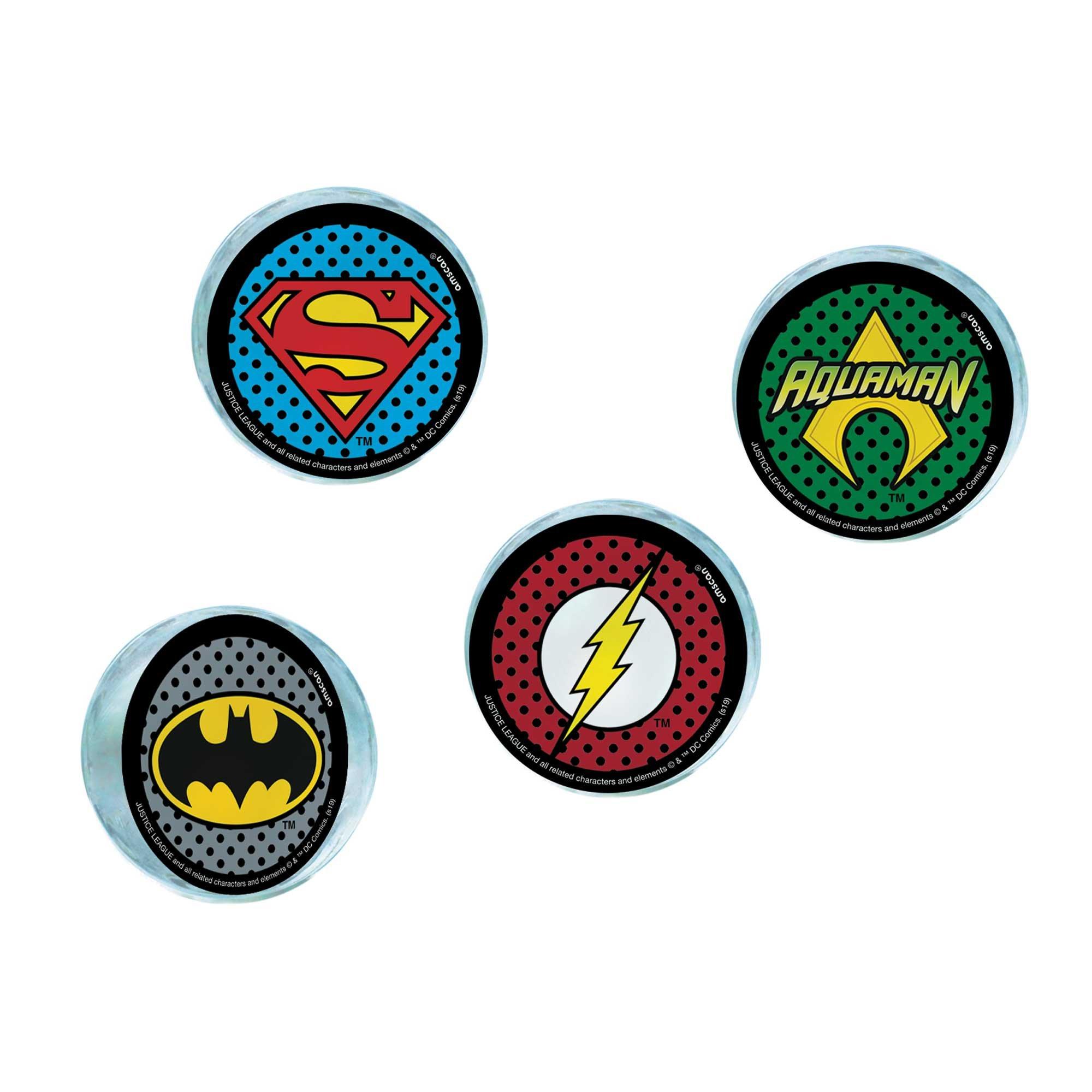 Justice League Heroes Unite Bounce Balls Favors