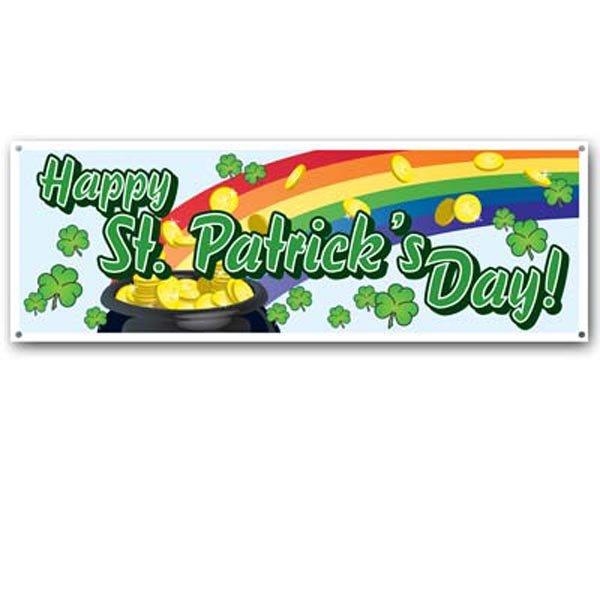 Sign Banner Happy St Patricks Day