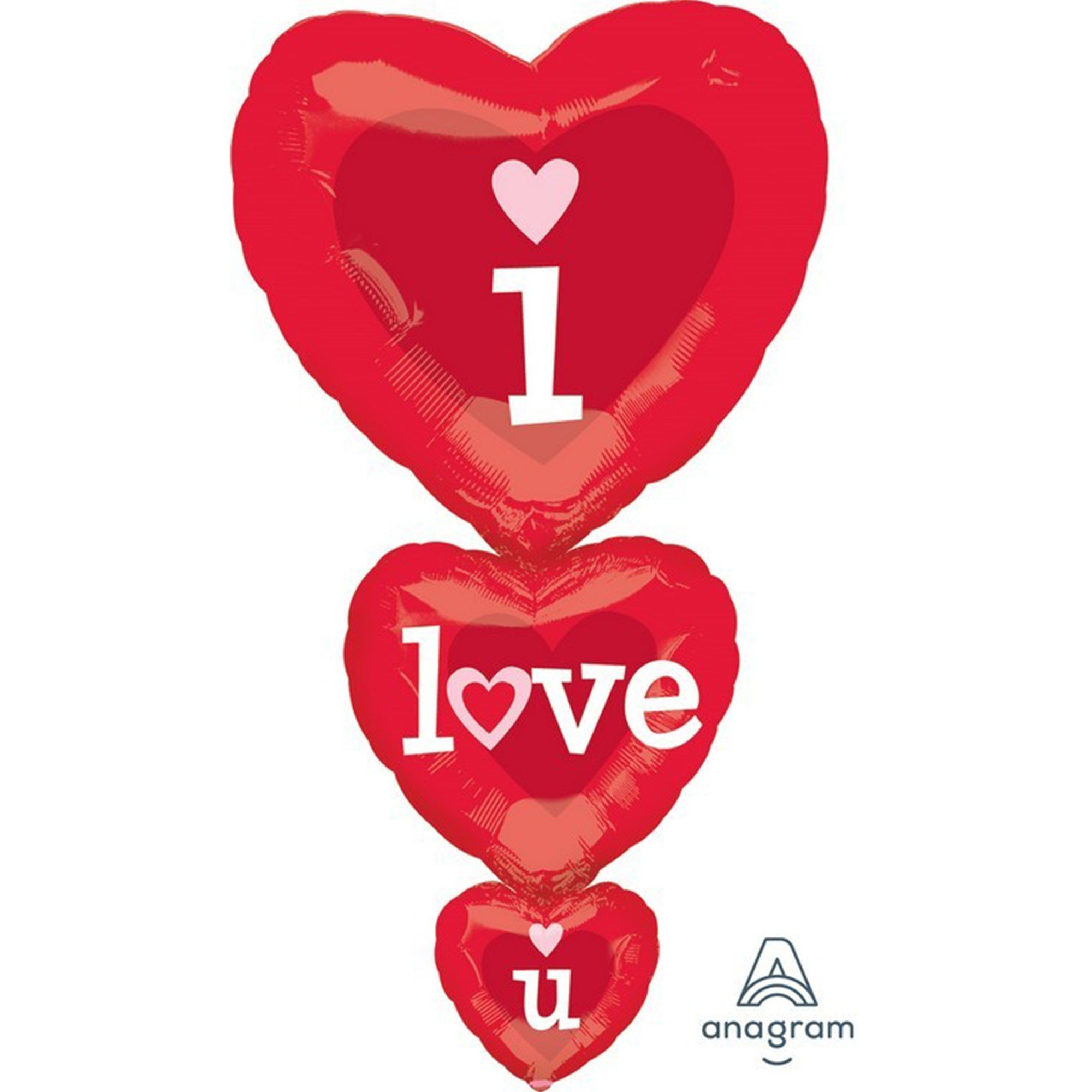 SuperShape XL I Love You Hearts Stacker P35