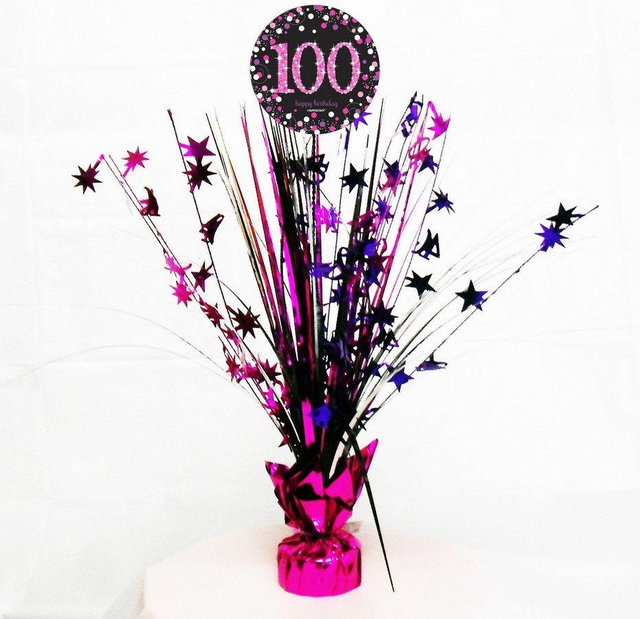 Pink Celebration 100 Centrepiece Spray