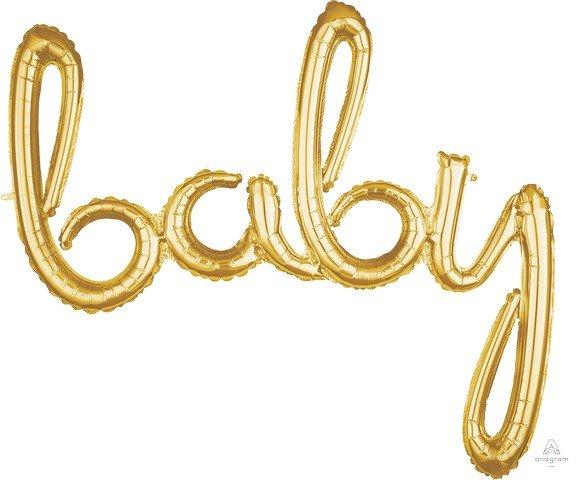 CI: Script Phrase baby Gold G40