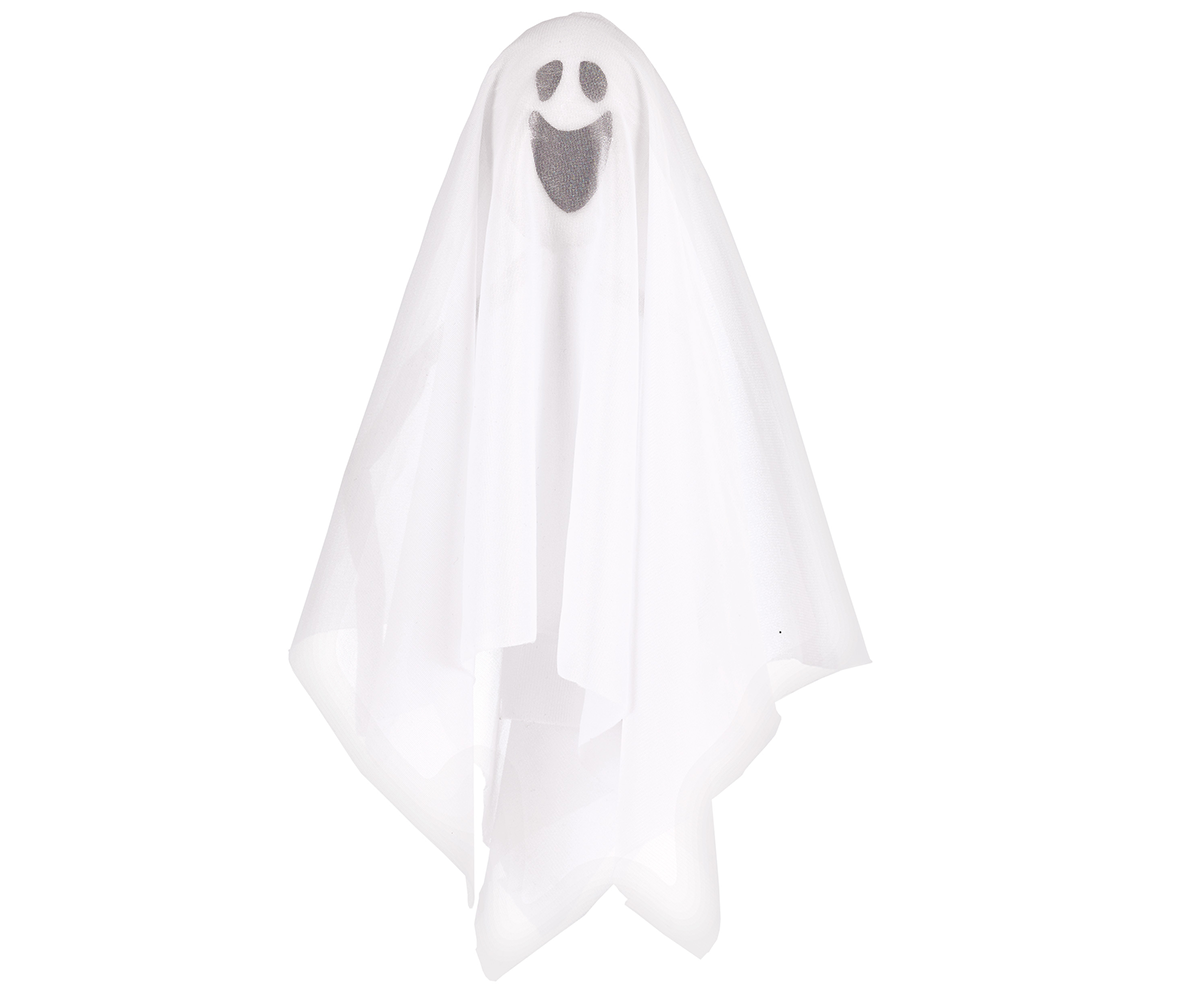 Small Fabric Hanging Ghost Prop Decoration
