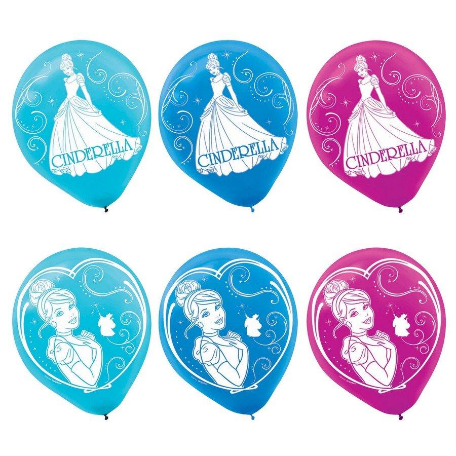 Cinderella 30cm Latex Balloons