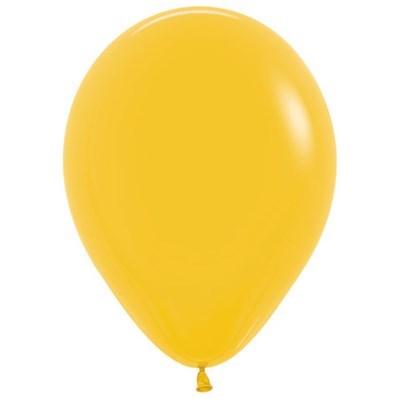 Sempertex 12cm Fashion Goldenrod Yellow Latex Balloons 021, 50PK