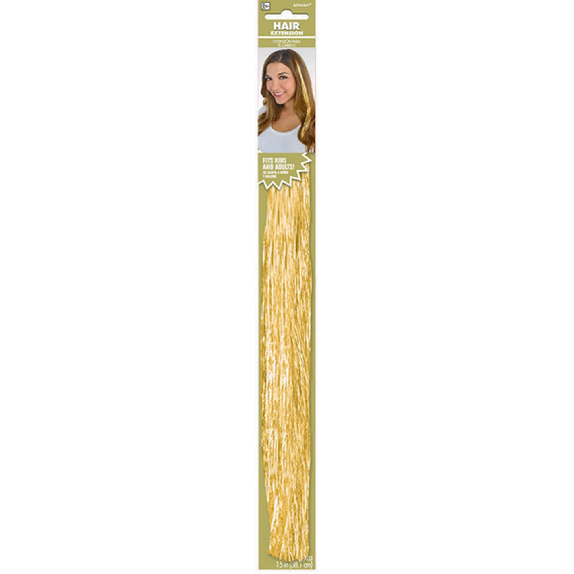 Hair Extensions - Gold