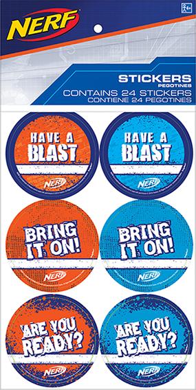 Nerf Stickers